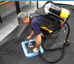 Vacuum Box Weld Testing